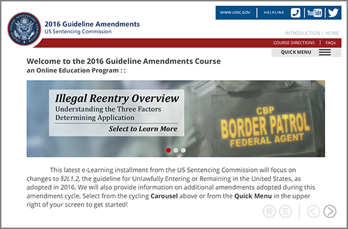 an overview of the federal sentencing guidelines in the united states The amendments to the united states sentencing guidelines road map to federal judges on the organizations with effective compliance and ethics programs and.