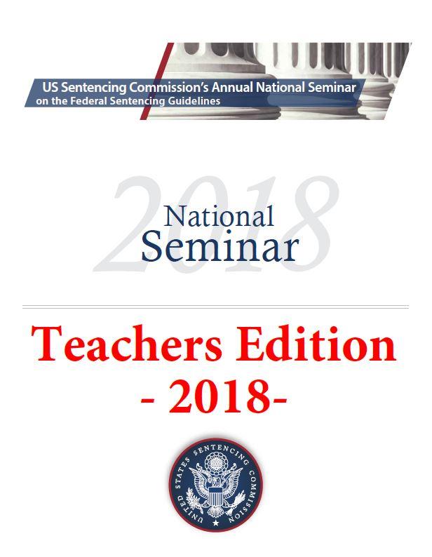 2018 National Seminar | United States Sentencing Commission