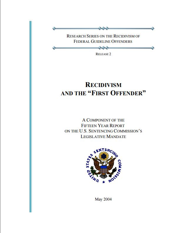 recidivism in the united states Recidivism in this regard is defined as gang members who renounce and complete the program,  united states full.