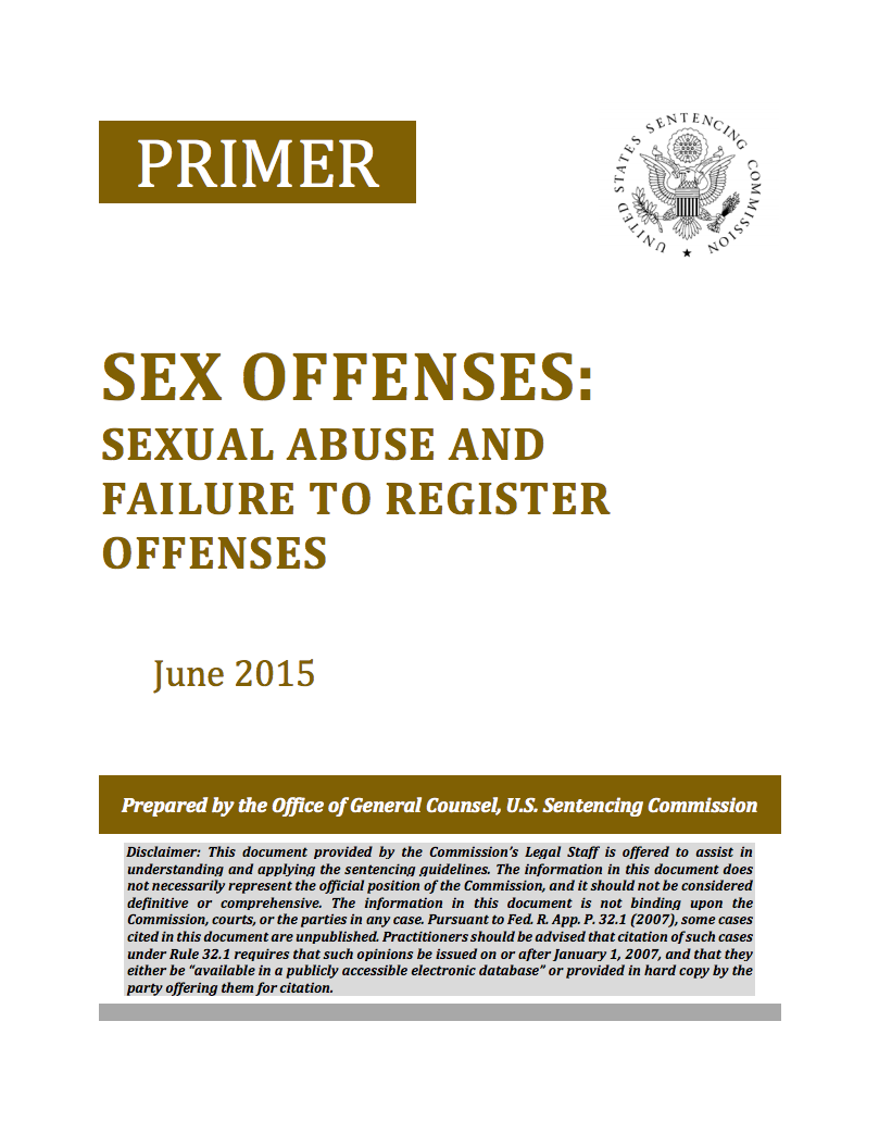 Useful message sentencing guidelines on sexual assault join. And
